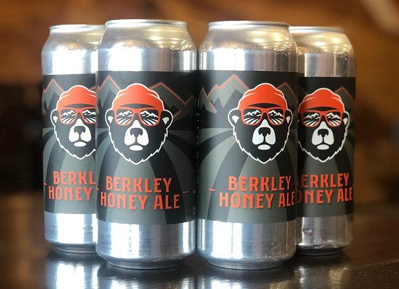 Berkley-Honey Ale, 4-Pack, 473ml cans