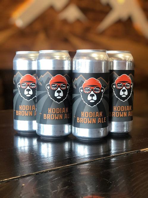 Kodiak-Brown Ale, 4 pack, 473ml cans