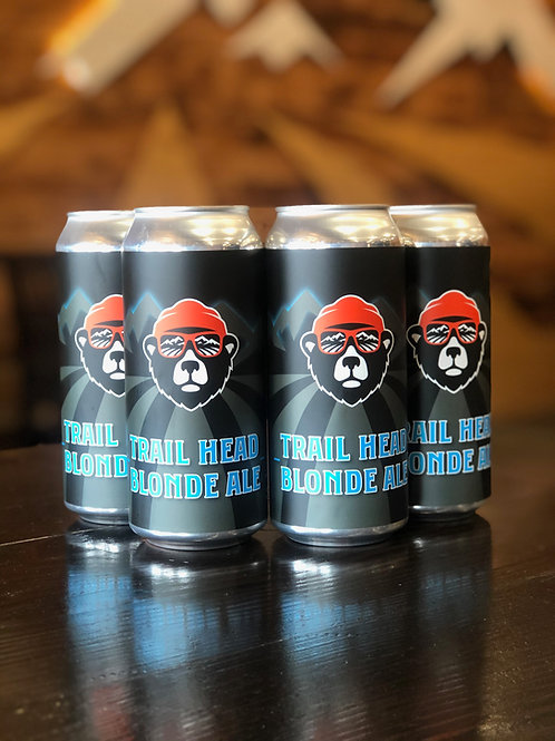 Trail Head-Blonde Ale, 4-Pack, 473ml cans