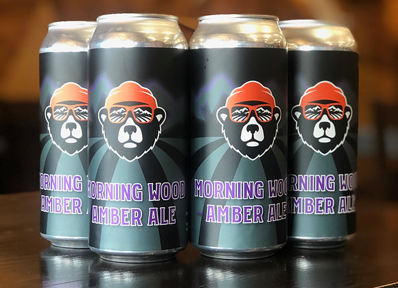 Morning Wood-Amber Ale-4 Pack, 473ml cans
