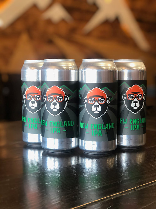 New England-IPA, 4 Pack, 473ml cans