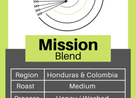 Mission Blend (Honduras & Colombia)