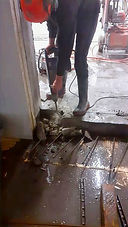 Bourací práce bourací kladivo