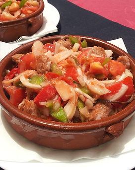 Ensalada Formentera - Restaurante Carabela