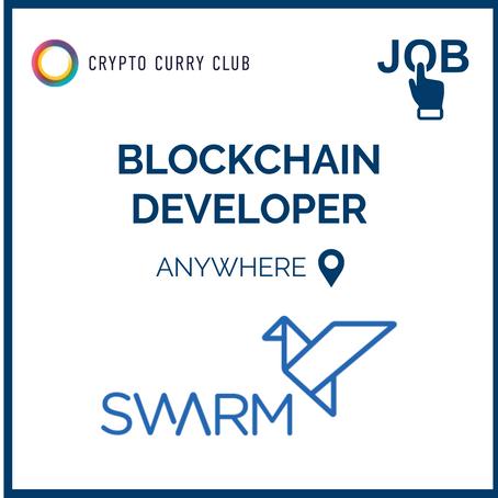 Live Job: Blockchain Developer, Swarm Markets