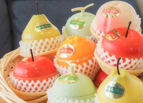 まるで本物!果実のようなフルーツゼリー♪夏の贈り物にもぴったりです。