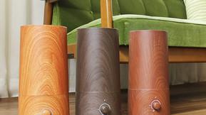 きれいなミストで加湿するアロマ超音波式加湿器wood