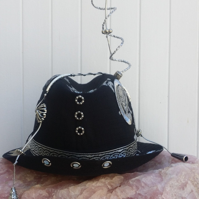 A fedora hat that I've personalized