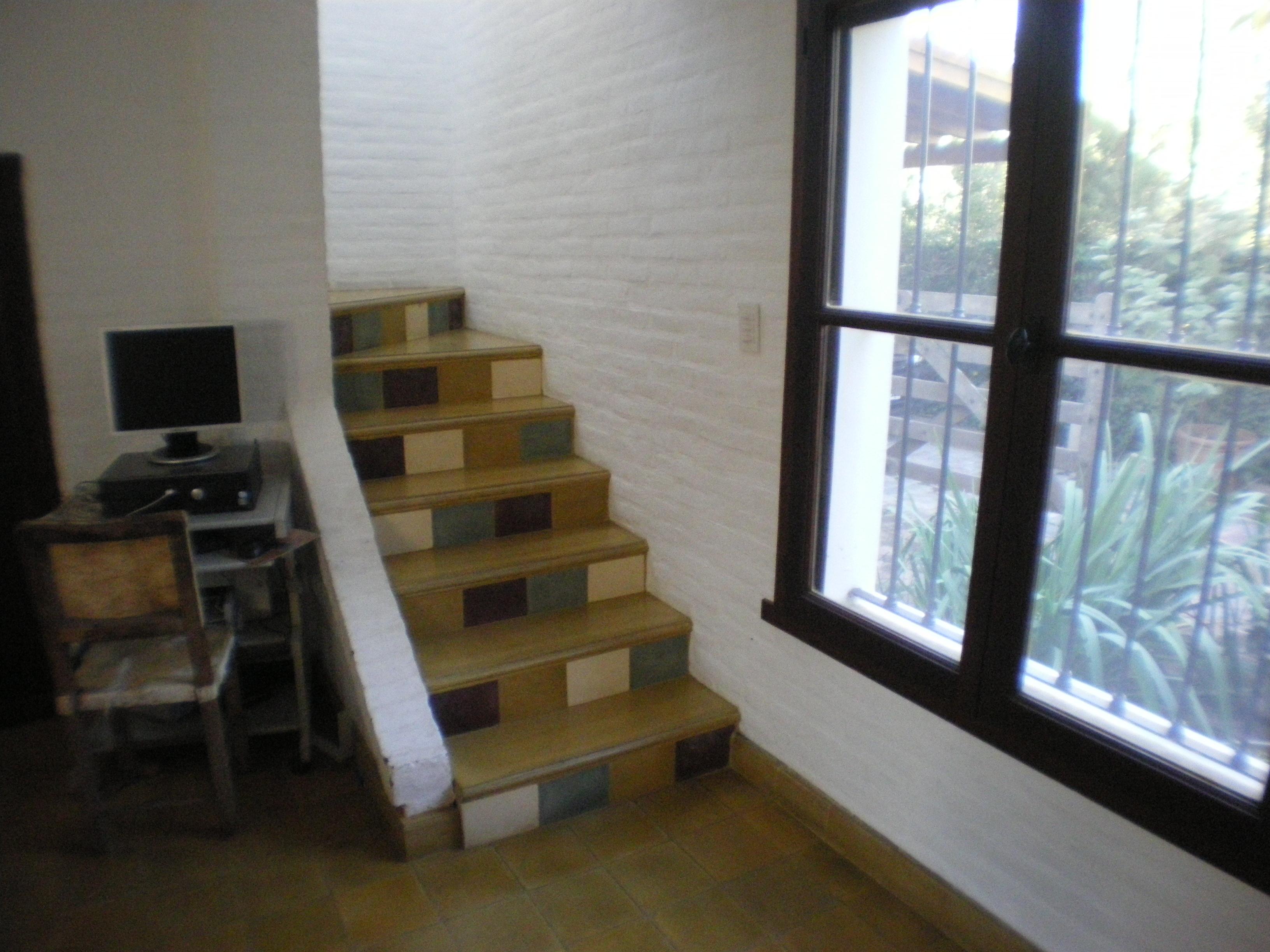 Escalera actual