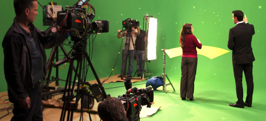 On-Set Green Screen Shoot