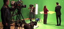 On-Set Green Screen Shoot