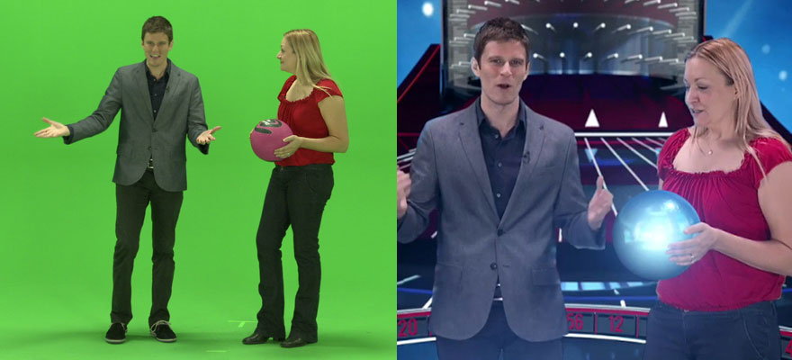 Visual FX & Green Screen Composite
