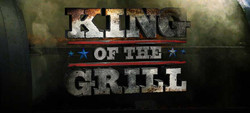 """Logo Design """"King of the Grill"""""""