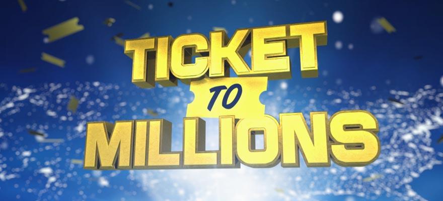 "Logo Design ""Ticket to Millions"""