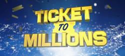 "Logo Design ""Ticket to Millions"""