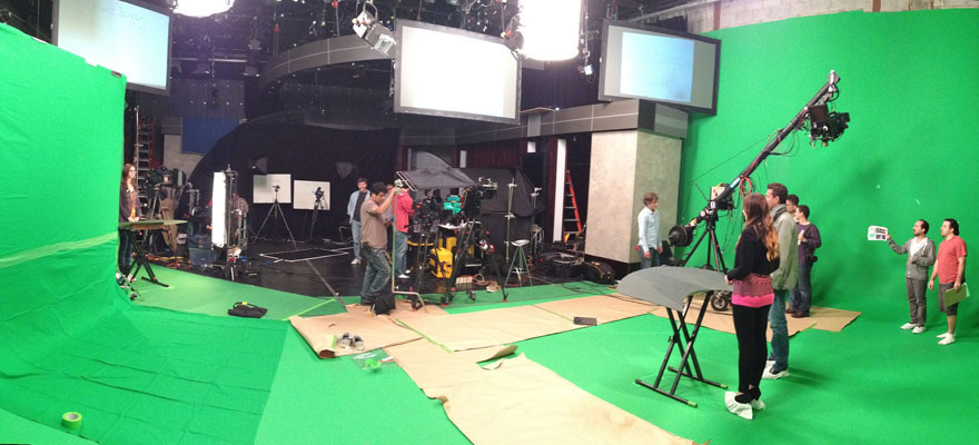 Multi-Camera Green Screen Shoot