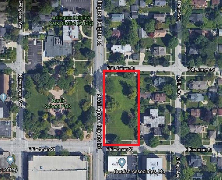 1.00 Acres +/- Available in Arlington Heights, IL