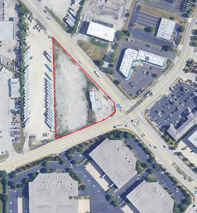 2.33 Acres +/- Available in Elk Grove Village