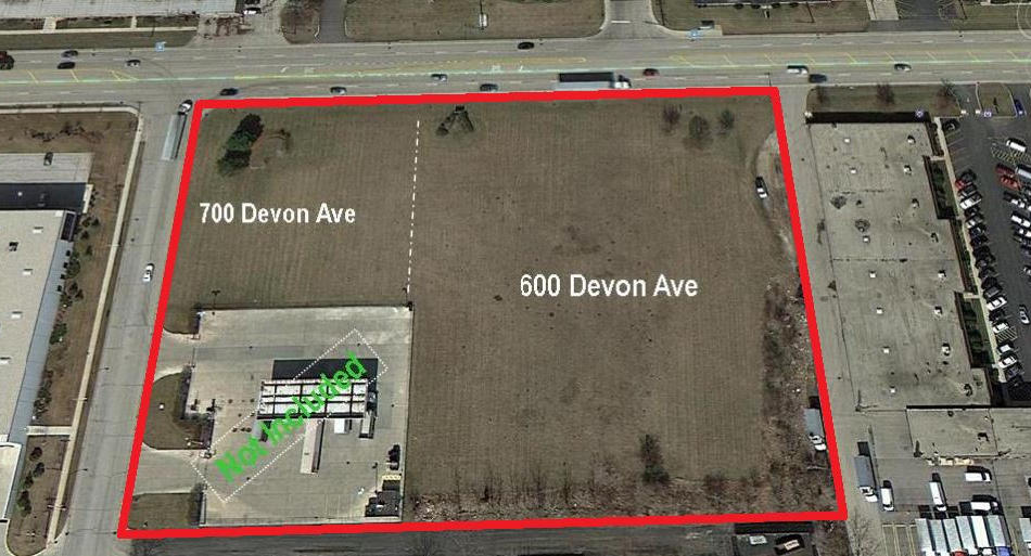 4.20 Acres +/- Available in Bensenville, IL