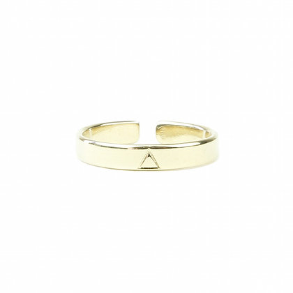 Bague Gold Triangle