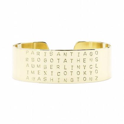 Bracelet GOLD CITY