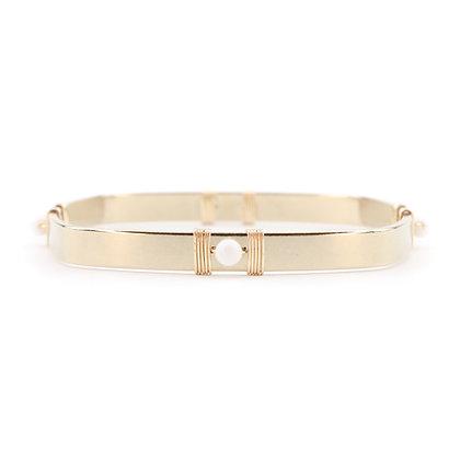 Bracelet AYA Blanc