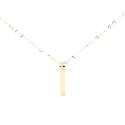 Collier Gold Triangle