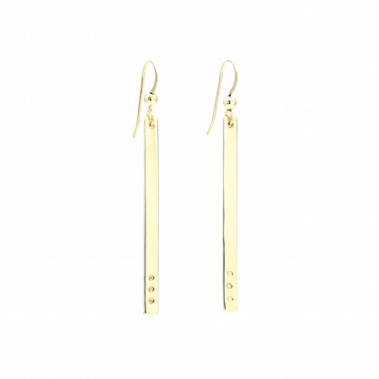 Boucles d'oreilles Gold Points