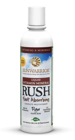 Liquid Vitamin Mineral Rush 8 oz