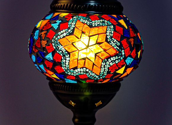 Mosaic Table Lamp Home Kit #17
