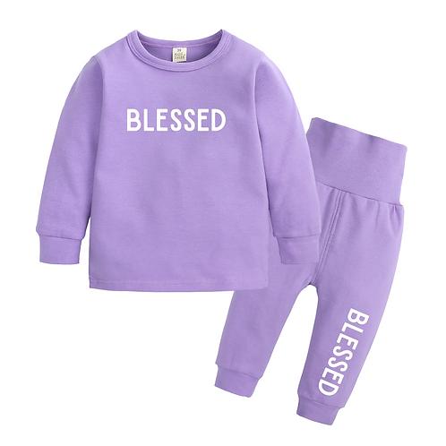 Junior 'BLESSED' Loungewear
