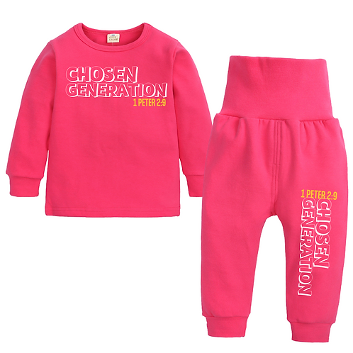 Junior 'Chosen Generation' Loungewear