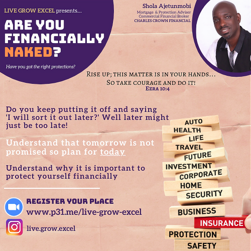 Live.Grow.Excel: Are You Financially Naked?