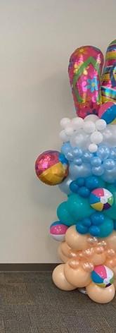 Beach Balloon decoration!.jpe