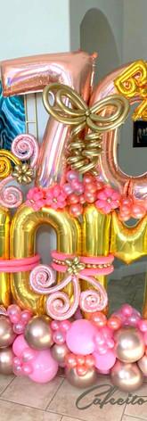 Cafecito Events | Balloons Arragements