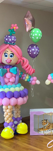 Cafecito Events   Balloons Characters