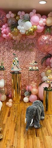 Cafecito Events   Organic Balloons Garland