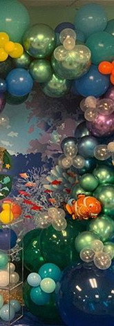 Cafecito Events | Organic Balloon Garland