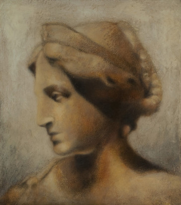 Wisdom  14x16 Oil on Canvas  2016