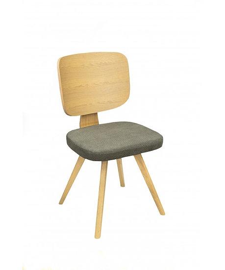 Καρέκλα Val Ξύλινη
