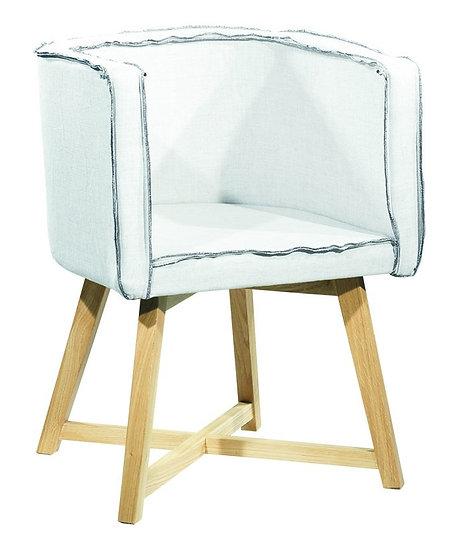 Πολυθρόνα P8-FY Ξύλινη Με Ύφασμα