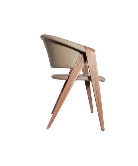 Πολυθρόνα GIFT ξύλο με ταπετσαρία