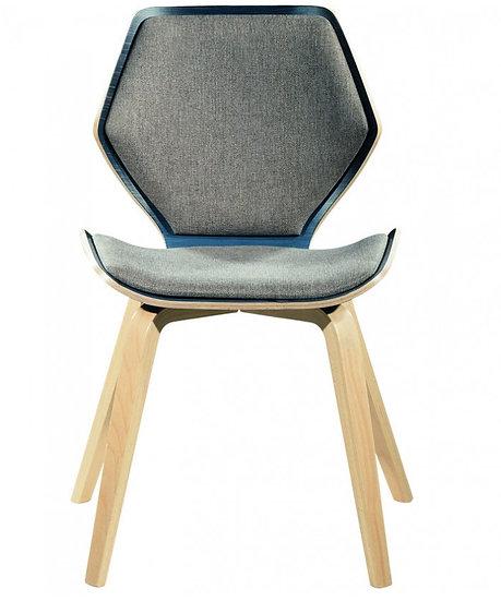 Καρέκλα G-F4 Ξύλινη Με Ύφασμα