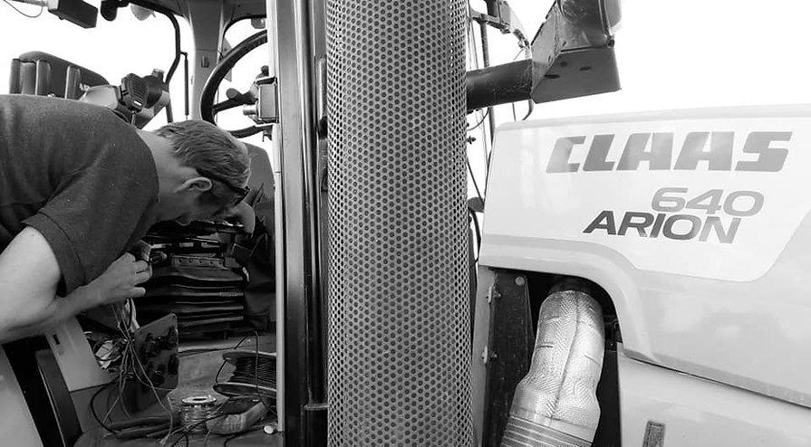 OnSite Repairs Daniel working