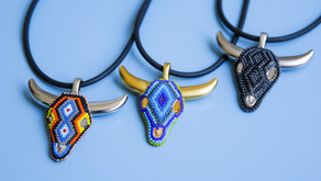 Men's Pendant With Meaning - Mayarica Bull Head Necklace
