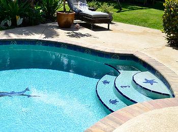 "<img src=""pooltile.gif"" alt=""decorative pool tile installed"""