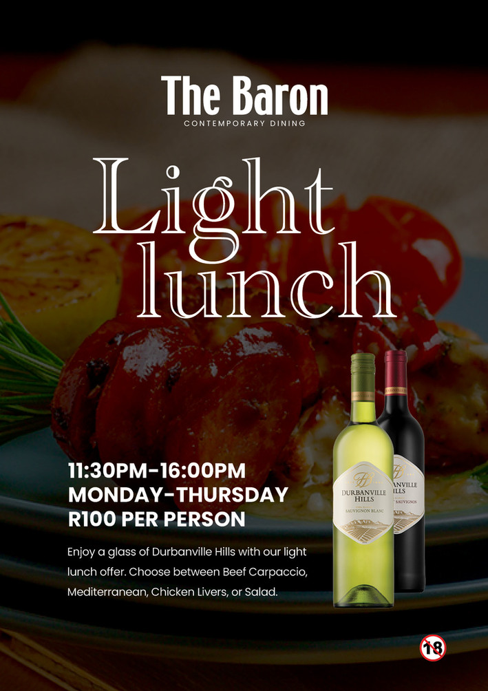 The Baron Light Lunch