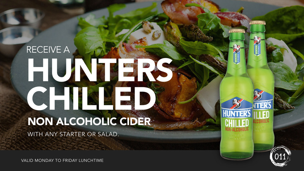Hunters Chilled - Lunch Promo 011