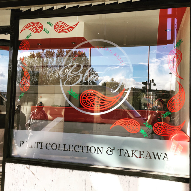 Blakeys Indian Window Graphics & Wall Graphics