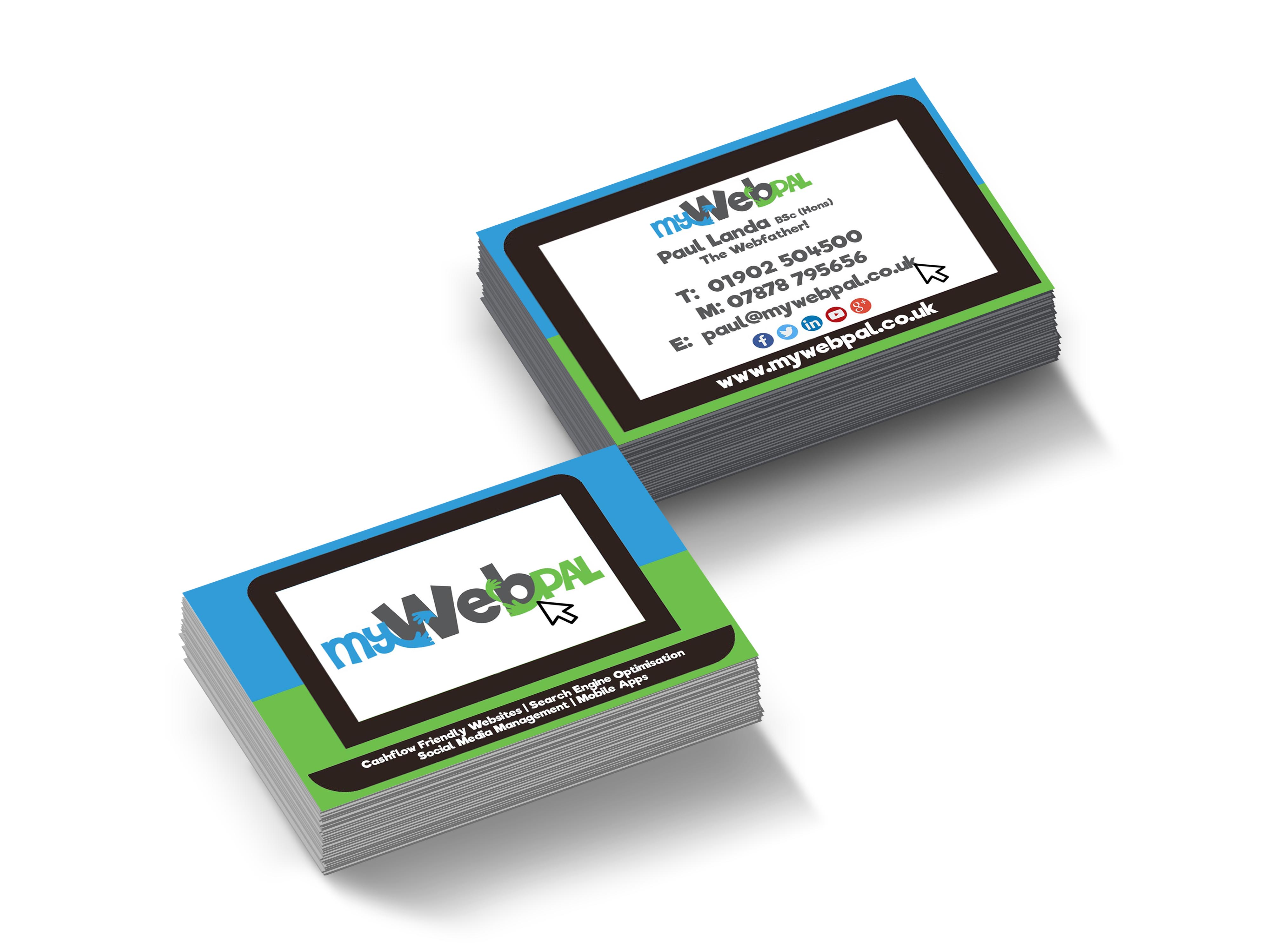 My Web Pal Business Cards